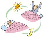 睡眠時間が短くても平気